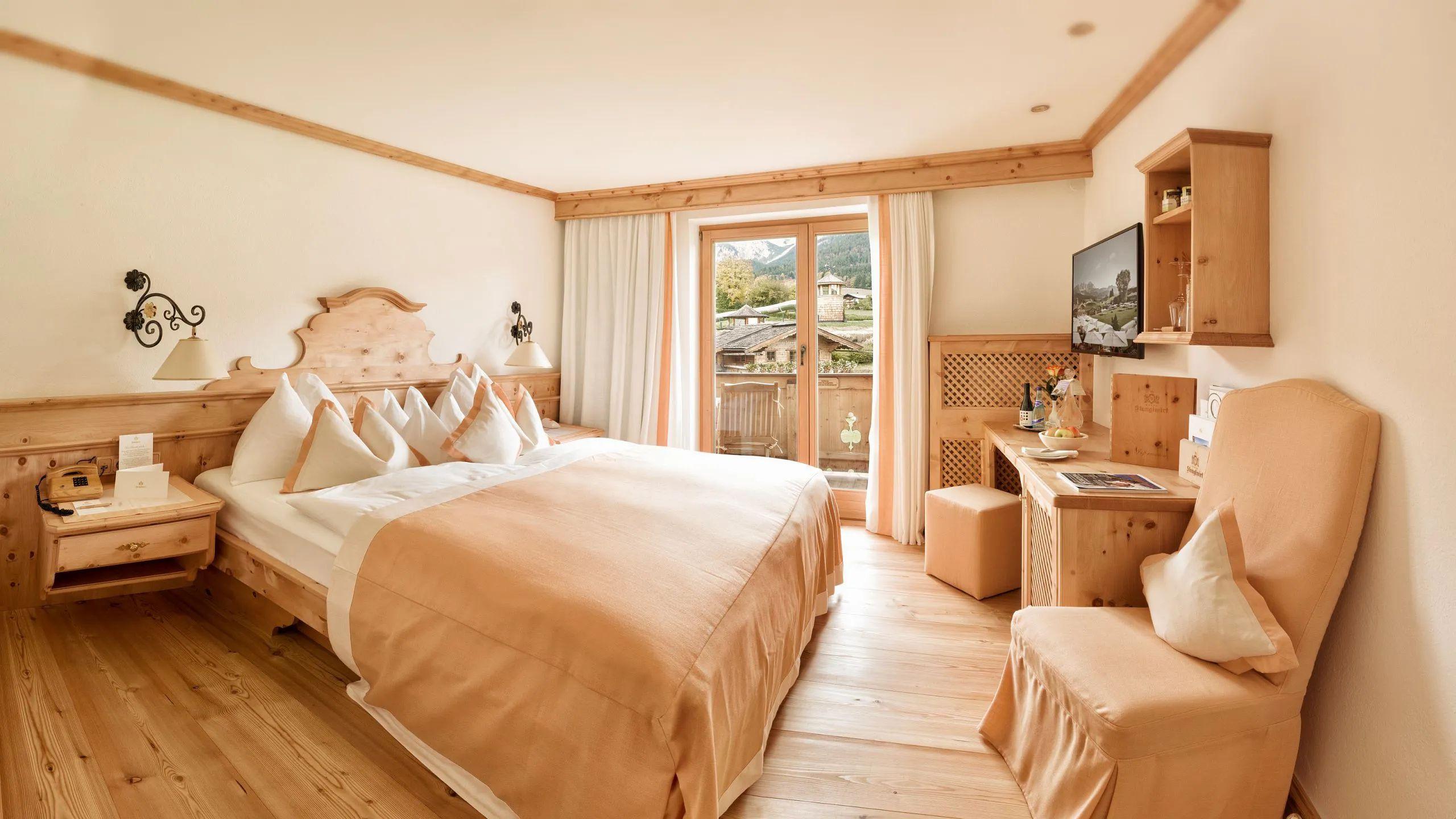 Die stanglwirt doppelzimmer for Hotelzimmer teilen